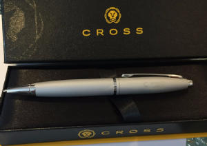 UC Farnborough-Engraved Cross Ballpoint Pen